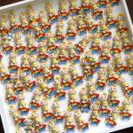 Bomboniere kawaii bambini nascita - battesimo - compleanno, arcobaleno, piccolo principe, personalizzate in fimo