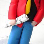 Cake topper laurea, cosplay lupin nerd, personalizzato in fimo