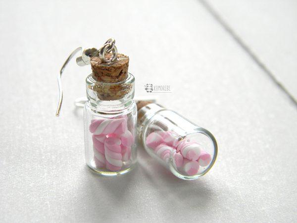 Orecchini Boccette Marshmallow