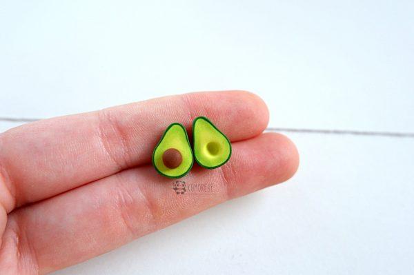 Orecchini Avocado