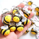 Bomboniere kawaii per qualsiasi occasione: babyshower - nascita - battesimo - compleanno - comunione - cresima - matrimonio, api, ape, animali, personalizzate in fimo