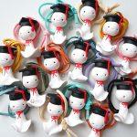 Bomboniere kawaii laurea teru teru bozu, tocco cappello laurea, personalizzate in fimo, lingue, giappone