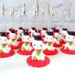 Bomboniere kawaii laurea statuine portafoto maneki neko, gatto portafortuna, tocco cappello laurea, personalizzate in fimo, lingue, giappone, cina