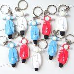 Bomboniere personalizzate kawaii in fimo, bomboniere maschi, vespa, moto, per comunione - cresima - matrimonio