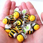 Bomboniere originali kawaii, api apette per nascita bambino - compleanno - comunione - cresima - matrimonio personalizzate in fimo