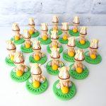 Bomboniere originali personalizzate in fimo con cavalli cavallini kawaii - horseball - battesimo, compleanno, comunione, cresima