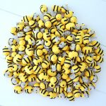Bomboniere originali fatte a mano artigianali, api apette kawaii, matrimonio, battesimo, comunione - nozze - sposa - sposo -sposi personalizzate in fimo