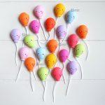 Bomboniere magnete fatte a mano artigianali, palloncini colorati kawaii, personalizzate in fimo, nascita bambino bambina - battesimo - comunione - compleanno - matrimonio - nozze - personalizzate in fimo