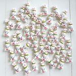 Bomboniere fatte a mano artigianali, coniglietto coniglietto corona alloro kawaii, personalizzate in fimo, laurea infermieristica medicina, medico veterinario, infermiere infermiera
